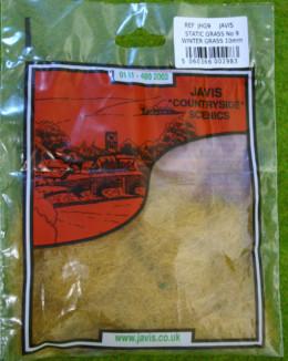 STATIC GRASS /Hairy Grass WINTER GRASS 10mm fibres Javis Scenics JHG9