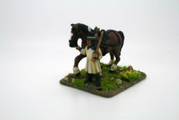 Trent Miniatures ARTILLERY TRAIN CART DRIVER BA02