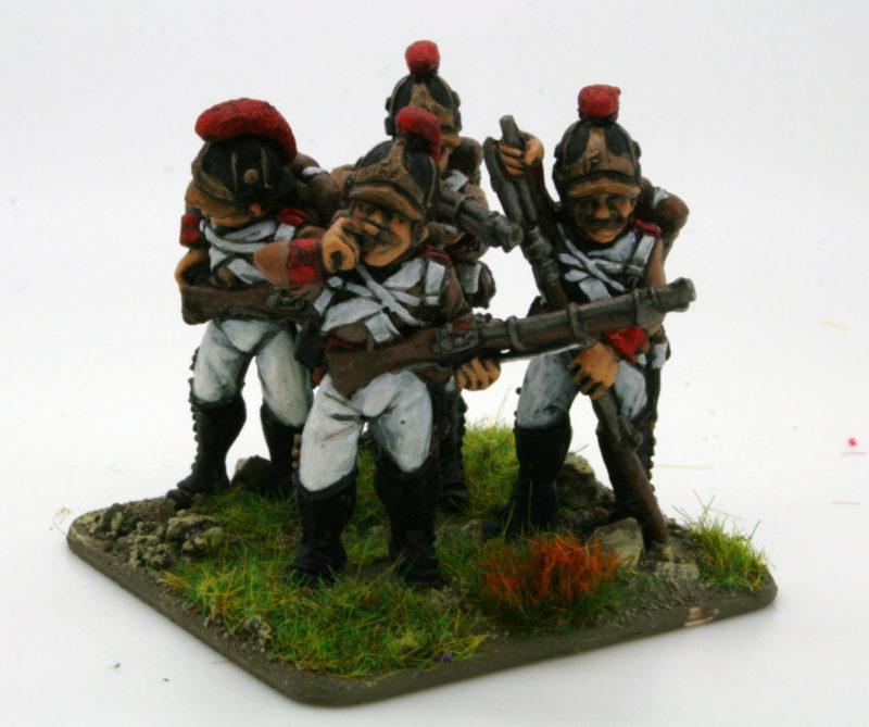 Austrian Artillery Fusiliers Firing