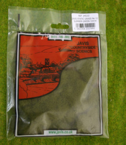 STATIC GRASS /Hairy Grass SUMMER GREEN GRASS 10mm fibres Javis Scenics JHG10