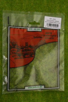 STATIC GRASS /Hairy Grass SUMMER MIX 6mm fibres Javis Scenics JHG6