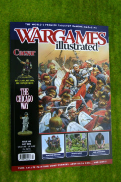 WARGAMES ILLUSTRATED ISSUE 345 July 2016 MAGAZINE