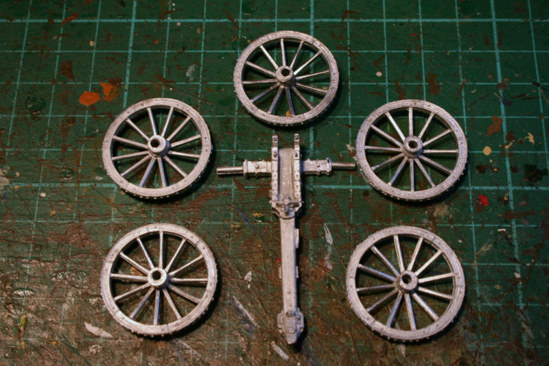 Wheel carriage 1
