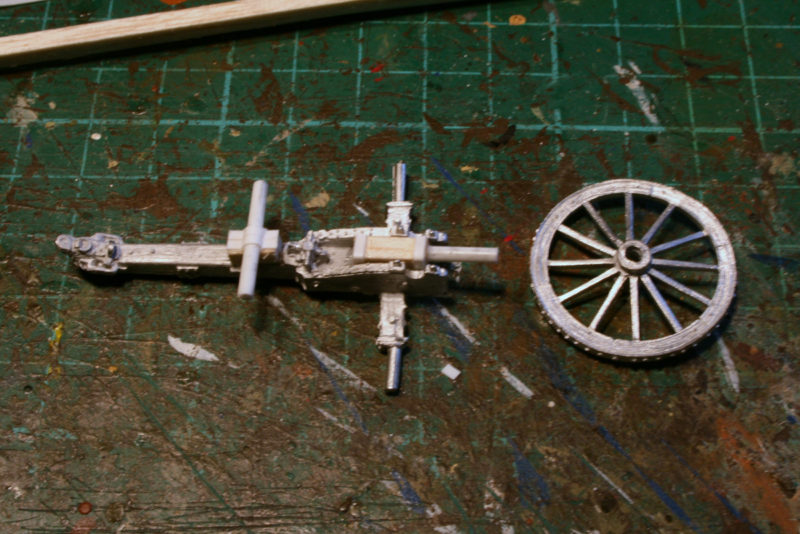 Wheel carriage 4