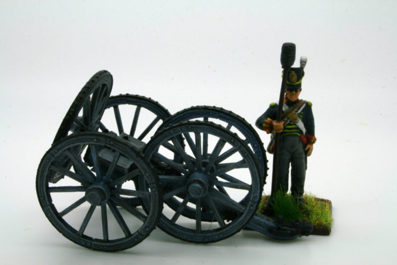 Wheel Carriage side view