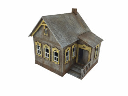 WW EUROPE Russian Village House 1 28mm Laser cut MDF kit N067