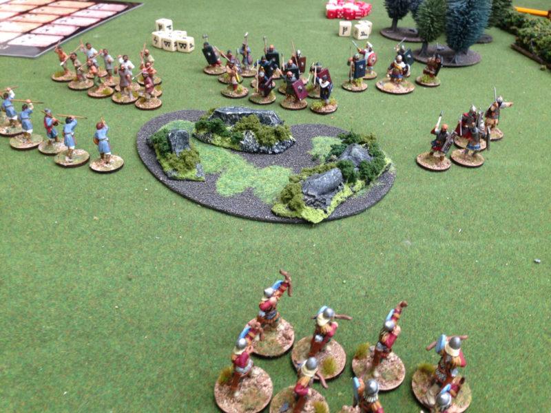 The Pagan Russ advance into range