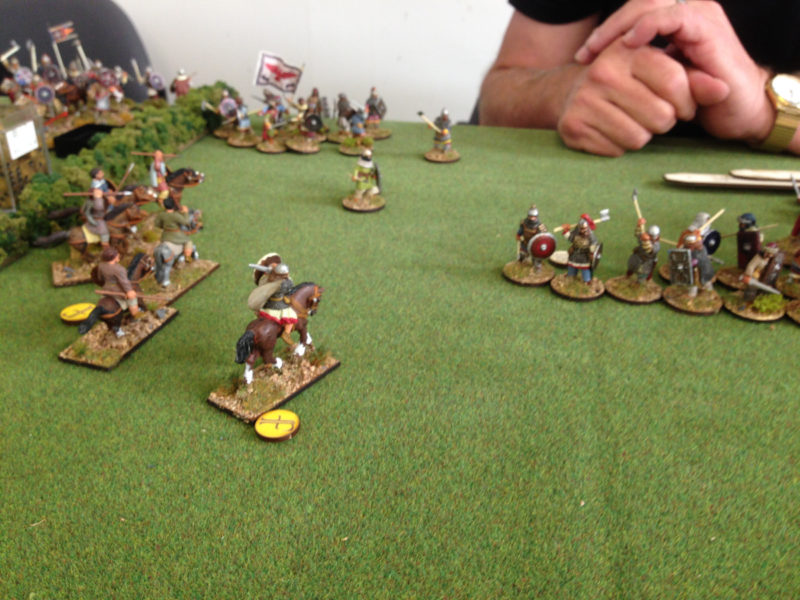 Strathclyde Welsh take the flank.
