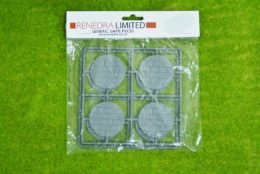 RENEDRA PAVED EFFECT 50mm ROUND BASES Pack
