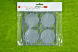 RENEDRA PAVED EFFECT 60mm ROUND BASES Pack