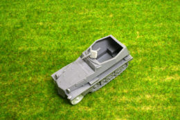 1/48 scale – 28mm 250/1 Alte Halftrack WW2 Blitzkrieg Miniatures