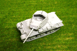 1/48 scale – 28mm M10 WOLVERINE WW2 Blitzkrieg Miniatures