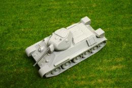 1/48 scale – 28mm T34 1941 WW2 Blitzkrieg Miniatures