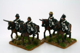 Trent Miniatures FRENCH DRAGOONS St. DOMINGUE CAR14
