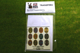 Daylami Shield Transfers for Footsore Miniatures Little Big Men DAY(FM)2
