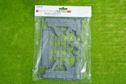 RUINS FRAME (B) WINDOW ARCH Renedra Diorama Wargames Scenery terrain 28mm