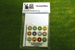 Gothic Shield Transfers for Footsore Miniatures Little Big Men GOTH(FM)2