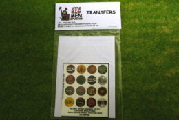 Islamic Shield Transfers for Footsore Miniatures Little Big Men ISLAM(FM)2