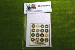 Islamic Shield Transfers for Footsore Miniatures Little Big Men ISLAM(FM)4