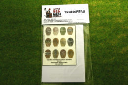 Islamic Shield Transfers for Footsore Miniatures Little Big Men ISLAM(FM)7