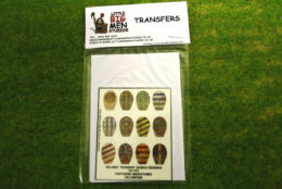 Islamic Shield Transfers for Footsore Miniatures Little Big Men ISLAM(FM)8