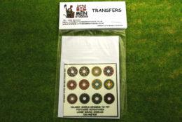 Islamic Shield Transfers for Footsore Miniatures Little Big Men ISLAM(FM)9