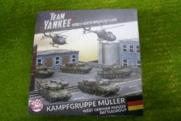 Flames of War KAMPFGRUPPE MULLER Team Yankee 15mm TGRAB1