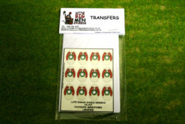 Late Roman Shield Transfers for Footsore Miniatures Little Big Men LIRC(FM)2