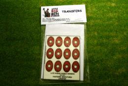 Late Roman Shield Transfers for Footsore Miniatures Little Big Men LIRC(FM)4