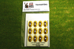 Late Roman Shield Transfers for Footsore Miniatures Little Big Men LIRC(FM)5