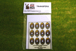Late Roman Shield Transfers for Footsore Miniatures Little Big Men LIRC(FM)6