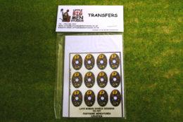 Late Roman Shield Transfers for Footsore Miniatures Little Big Men LIRC(FM)6