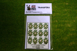 Late Roman Shield Transfers for Footsore Miniatures Little Big Men LR(FM)2