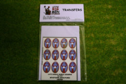 Late Roman Shield Transfers for Footsore Miniatures Little Big Men LR(FM)3