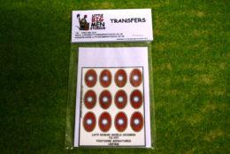 Late Roman Shield Transfers for Footsore Miniatures Little Big Men LR(FM)6