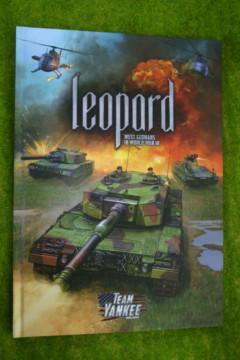 TEAM YANKEE LEOPARD Rulebook Flames of War Supplement FW906