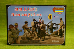 Strelets  WW2 EARLY AMERICAN SOLDIERS 1/72 miniset M105