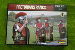 Roman PRETORIAN RANKS 1/72 Strelets set M108