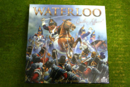 Waterloo Quelle Affaire Historical Strategy Board Game River Horse