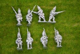 Trent Miniatures RUSSIAN GRENADIERS ADVANCING RU04 28mm