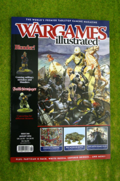 WARGAMES ILLUSTRATED ISSUE 346 August 2016 MAGAZINE