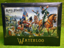 BLACK POWDER NAPOLEONIC STARTER SET -WATERLOO – Warlord Games Black Powder