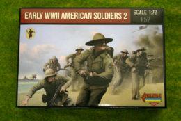 Strelets EARLY WW2 AMERICAN SOLDIERS 1/72 miniset M113