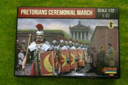Roman PRETORIAN CEREMONIAL MARCH 1/72 Strelets set M109