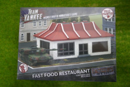 Team Yankee Fast Food Restaurant Flames of War 15mm BB207