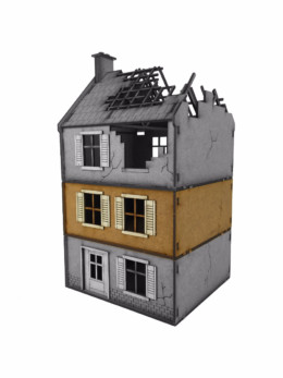 WW EUROPE Small House – ADDITIONAL FLOOR 28mm Laser cut MDF kit N008