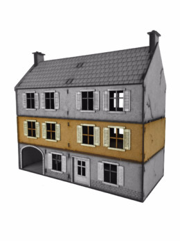 WW EUROPE Large Farmhouse – ADDITIONAL FLOOR 28mm Laser cut MDF kit N017
