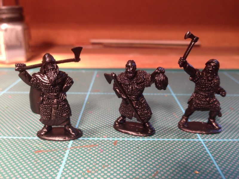 Footsore Curadh ready for painting