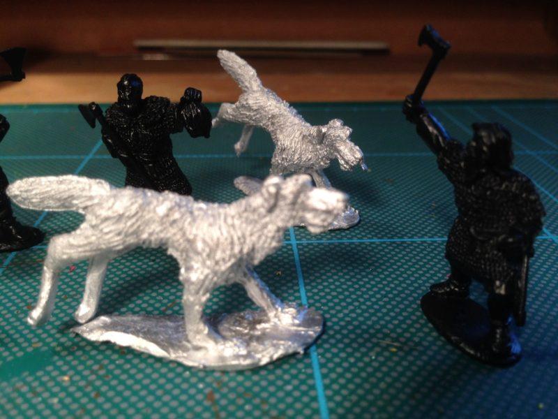 Irish warrior wolfhounds!