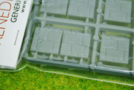 RENEDRA PAVED EFFECT 20mm SQUARE BASES Pack